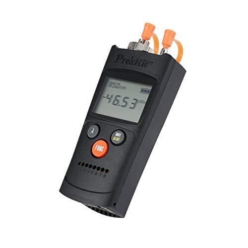 Pro'skit MT-7602 4 en 1 Medidor de potencia de fibra óptica de...