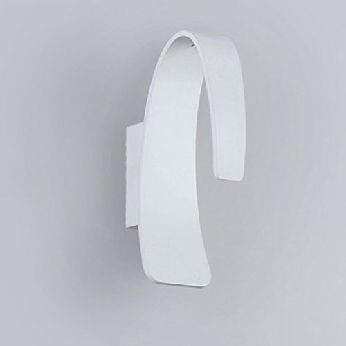 Lamp LU LED Moderne Frontale de Miroir d'originalité de Mur d'arrière-Plan TV (Couleur : Blanc)