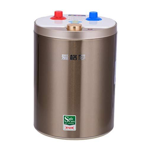 Elektro-Durchlauferhitzer Knopf drehen Warmwasserbereiter einfach zu bedienen Energiesparend Energiesparender Warmwasserspender Familienausstattung Mini-Warmwasserbereiter Küche Badezimmer