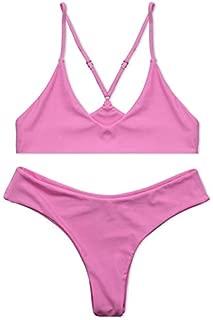 BEESCLOVER Set New Brand Swimsuit Women Sport Swimwear Thong Bottom Beach Bathing Suit Summer