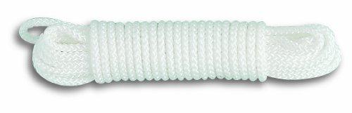 Chapuis FDR7 Geflochtenes Polypropylen-Seil - 150 kg - Durchmesser 3 mm - Länge 20 m - Weiß