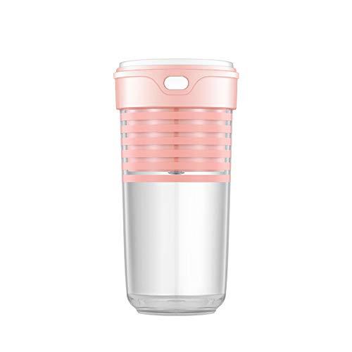 Licuadora Vaso mezclador de jugo eléctrico de frutas Licuadora personal Portátil Multifuncional Carga USB Licuadora de jugo, Adecuado para viajes deportivos, trabajo a casa