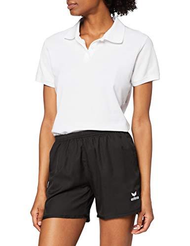 Erima GmbH 809210 Pantalón Corto de Tenis, Mujer, Negro, 42