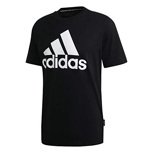 adidas Herren MH BOS Tee T-Shirt, Black, M