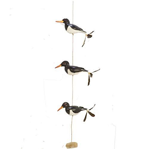 Gartenzaubereien Windspiel Austernfischer Vogel