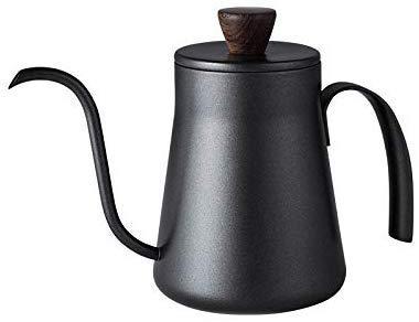 Kaffee und Tee Flasche 400ml Isolierung Edelstahl-Befestigungswinkel Handschlags-Topf Kaffee und Tee-Töpfe mit Deckeln Drip Gooseneck Spout Langen Mund Kaffee und Tee-Kessel Tee-Topf