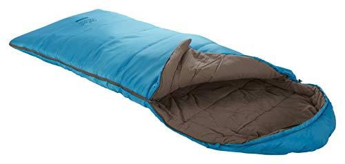 Grand Canyon Utah 150 Kids - Warmer Deckenschlafsack für Kinder, weich und angenehm durch Baumwoll-Flanell im Innenbezug - Premium Ganzjahres-Schlafsack für Camping, Outdoor, Übernachtung - Caneel Bay