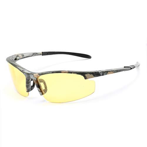 YTYASO Gafas de Sol polarizadas Hombre Camo Hombre Gafas de Sol para Hombre De Sol Gafas Accesorios