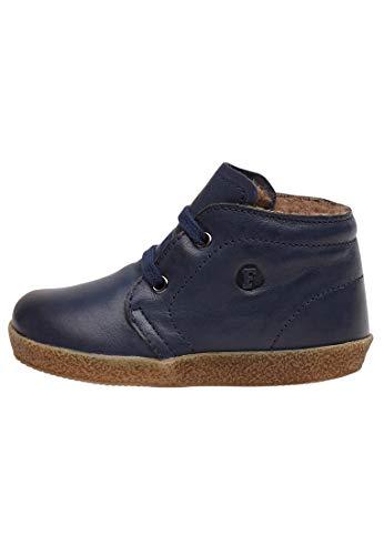 Falcotto Conte-Schnürschuh aus Nappaleder mit Wollfutter-Blau blau 22