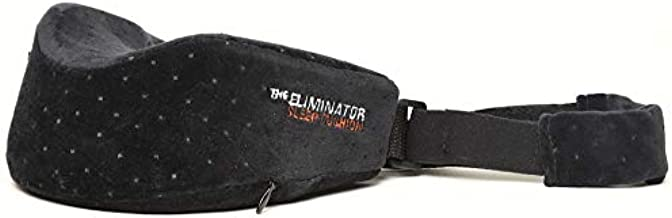 The Eliminator Series Sleep Aid Cushion Travel Sleep Pillow Cushion Apnea Anti Snore (Black)