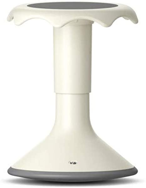 VS America Hokki Plus Adjustable Stool 15 19 75 White