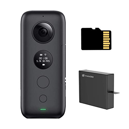 Insta360 ONE X Battery Kit - 360 ° Video Camera with 5.7K Video Resolution, 18 megapixel Photos,...
