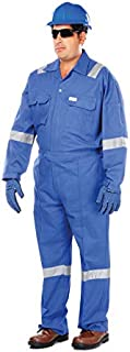 Vaultex Cotton Coverall with Reflective Stripes (VRB-4XL)