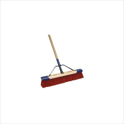 """Cequent Consumer Products 559024A Heavy Duty Debris Push Broom, 24"""""""