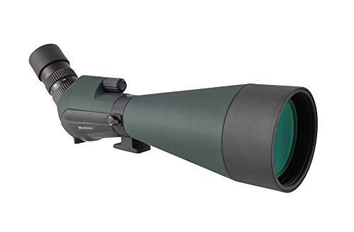 Bresser wasserdichtes Spektiv Condor 24-72x100 mit großer Öffnung, hoher Vergrößerung und voller Mehrschichtvergütung und 360° drehbarem Korpus inklusive Transporttasche und Trageriemen