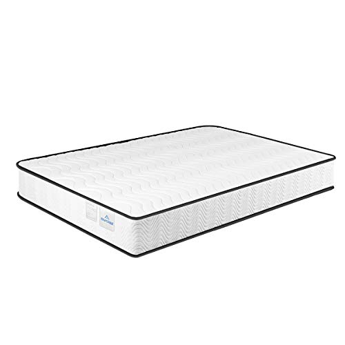 Single Mattress 3FT, 7 zone Memory Foam Mattress Single, Medium Firm, 20 cm High Sprung Mattress with Soft Fabric Fire Resistant Barrier (90x190x20cm)
