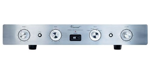 Vincent Audio - SA-31 Hybrid Stereo Preamplifier - Silver