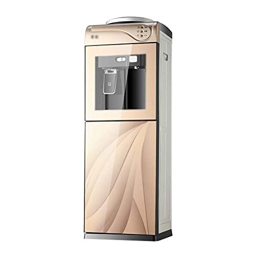 ZJZ Dispensador de Enfriador de Agua de Carga Superior 5 galones de Agua a Temperatura Normal y Agua fría y Caliente para el hogar