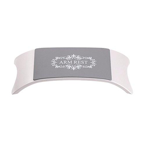Frcolor Maniküre Zubehör Silikon Handauflage /weiches Nail Art Kissen (weiß)