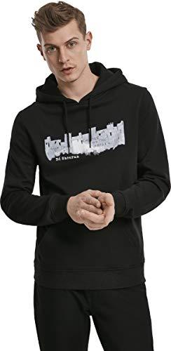 MERCHCODE Herren Ed Sheeran Castle On The Hill Kapuzenpullover, Black, M