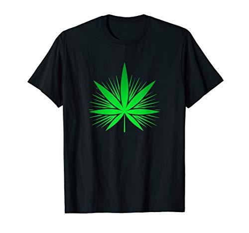 Cannabis Tee Kanabis Marihuana Reggae Hanfblatt THC T Shirt