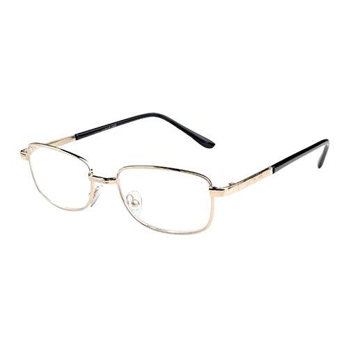 Deylaying Mode Super Licht Lesebrille Damen Herren Vintage Rund Metall Rahmen Glas Linse Lesen Brille 1.0 1.5 2.0 2.5 3.0 3.5 4.0 4.5 5.0 5.5 6.0