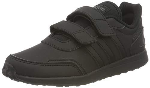 adidas VS Switch 3 Sneaker, Core Black Core Black Core Black, 30.5 EU