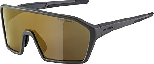 ALPINA Unisex - Erwachsene, RAM Q-LITE Sportbrille, coffegrey matt, One Size