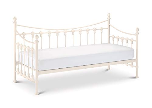 Julian Bowen Versailles Daybed, Stone White, Single