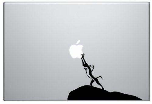 Price comparison product image Rafiki Lion King Macbook Pro Vinyl Decal