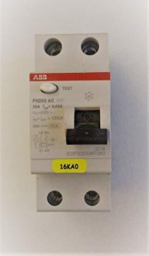 abb-entrelec FH200–differenziale fh202ac 25A 30mA