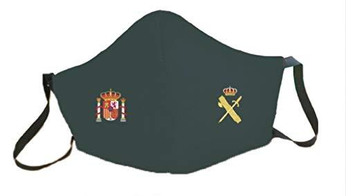 Mascarillas España escudo homologadas GUARDIA CIVIL reutilizables 3 capas protectoras