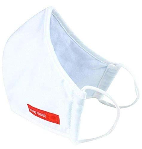 Hanvico Atemschutzmaske Antibakteriell 3-Lagig NANO SILBER Farben