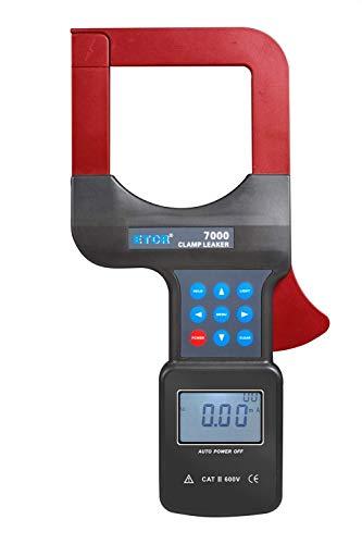 JF-XUAN 3-Phasen-Digital-Large Diameter AC Leckstromzange Meter AC0.00mA ~ 2000A 0,01 mA Auflösung RS232-Schnittstelle 99 Datenspeicherung ETCR7000 Testmessung