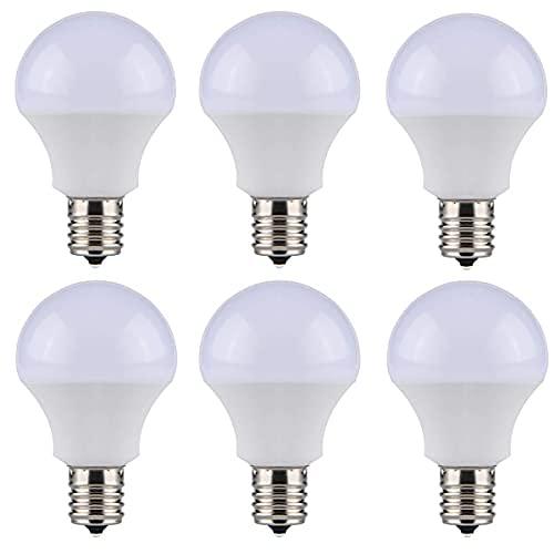 SenMeiGuang LED電球 e17 led 昼白色 6000K (6個セット) 80W形相当 9W 800lm 全方向広配光 密閉器具対応 断熱材施工器具対応 省エネ 高演色 e17 口金直径17mm
