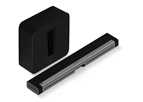 Sonos 3.1 Entertainment Set - Home Theater System with PlayBar Sound Bar and Sub, Wireless Sound...