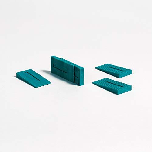 Parador Rastkeile aus Kunststoff - Abstandshalter zum Verlegen von Laminat, Parkett und elastischen Böden - Set mit 48 Stück