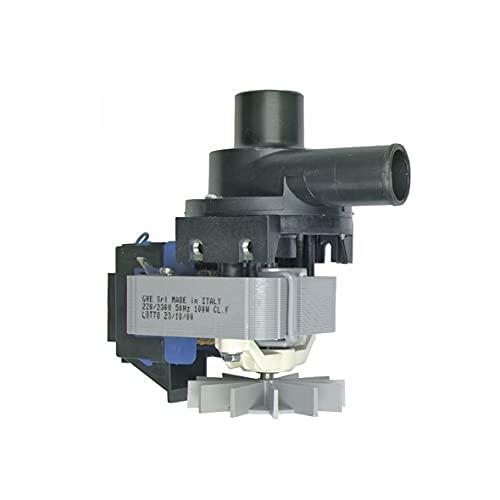 Europart 10001608 Ablaufpumpe Laugenpumpe Schmutzwasserpumpe Waschmaschinenpumpe Pumpenmotor Pumpe...