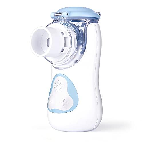 Inhalator Vernebler, Fünf Gang einstellbare Geschwindigkeit, tragbar Inhaliergerät für Atemwegserkrankungen wirksam, Niedriges Geräusch, für Kinder und Erwachsene