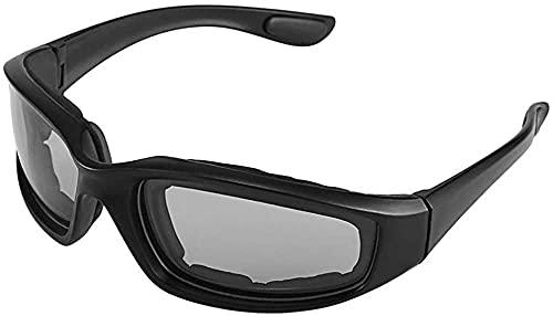 ZRDSZWZ Confiable motocicleta bicicleta gafas protectoras a prueba de viento a prueba de polvo gafas de ciclismo gafas gafas de deportes al aire libre gafas gafas negro