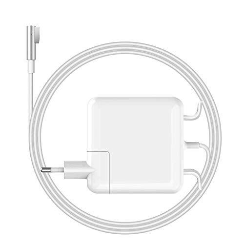 YWCKING MacBook Pro Ladegerät 60W MagSafe 1 Kompatibel mit MacBook Pro 13 Zoll 2008 2009 2010 2011 bis Mitte 2012, magnetisches L-Tip-Ladegerät für A1278 A1181 A1184 A1344 A1330 A1342 und mehr.
