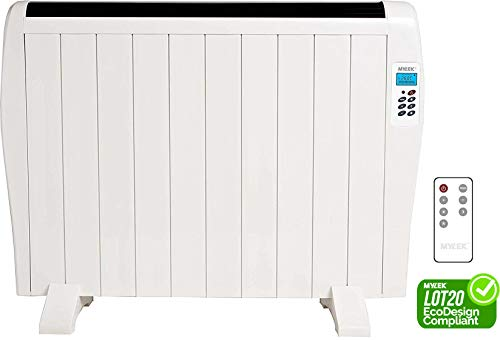 MYLEK 1500w Premium Aluminium Electric Panel Heater