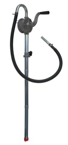Aluminium-Kurbelpumpe RP 100-d incl. Schlauch f. Diesel, Motor-, Getriebe- und Hydrauliköle