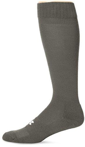 Under Armour Adult HeatGear Boot Sock, 1-Pair , Foliage Green , Large