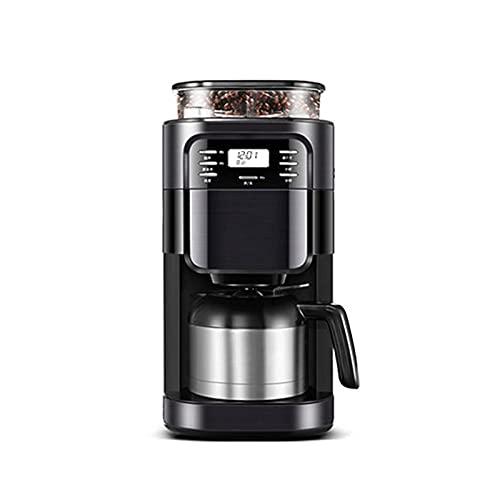 Ekspres do kawy Amerykański ekspres do kawy Domowy Mały inteligentny automatyczny przelewowy ekspres do kawy Ziarna w proszku Dwufunkcyjny ekspres do kawy