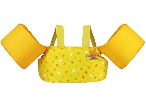 Wenlia 水遊び用アームリング 幼児 プール 浮き輪 パドルジャンパー 便利 ライフジャケット 強い浮力 水泳練習用具 水遊び スイミング 補助具 (小さなピンクのユニコーン)