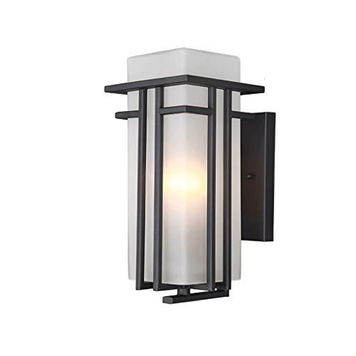 BUYAOBIAOXL Lámpara de Pared Retro Lámpara De Pared Exterior Lámpara De Jardín Impermeable Luz De Pasillo Luz De Pared Exterior Terraza Luz (Color : Small)