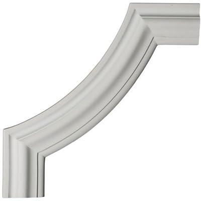 Ekena Millwork 12 inch W x 12 inch H x 3/4 inch P Pompeii Panel Moulding Corner