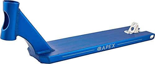 Apex Pro Box Cut Stunt Scooter - Tabla para patinete (53 cm), color azul