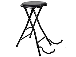 Stagg GIST-300 Foldable Stool with Guitar Stand